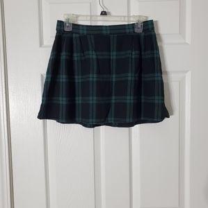 Old Navy Plaid Mini Skirt